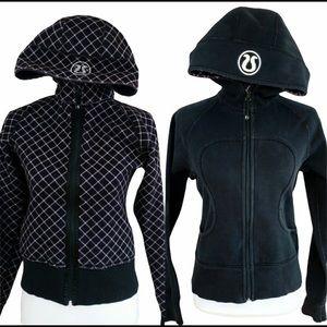 Lululemon Reversible Scuba Hoodie Jacket S…